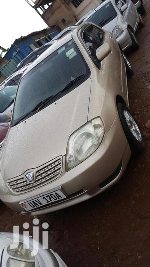 Toyota Allex 2001 Gold   Cars for sale in Central Region, Kampala