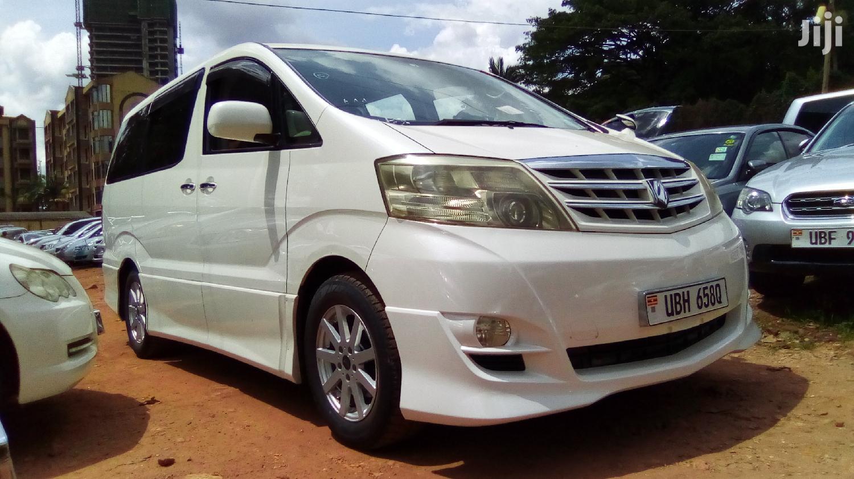 Toyota Alphard 2006 White | Cars for sale in Kampala, Central Region, Uganda