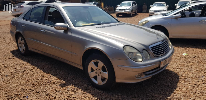 Mercedes-Benz E240 2004 Silver