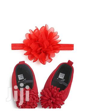 Girl Shoes With Head Band.   Children's Shoes for sale in Central Region, Kampala
