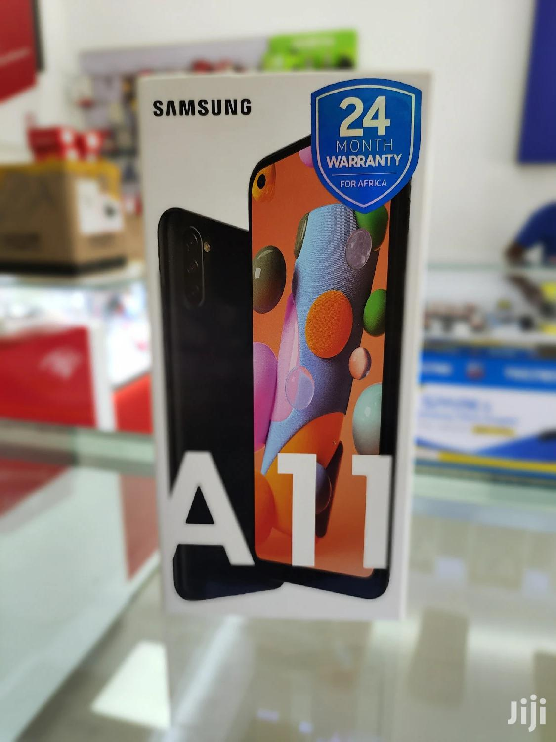 Archive: New Samsung Galaxy A11 32 GB Black