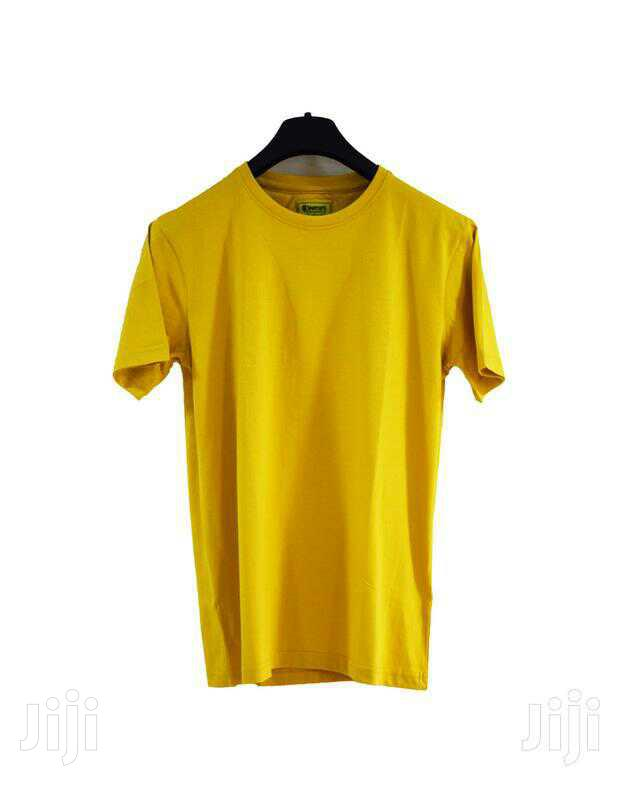 Classic Round Neck Plain T-Shirts | Clothing for sale in Kampala, Central Region, Uganda