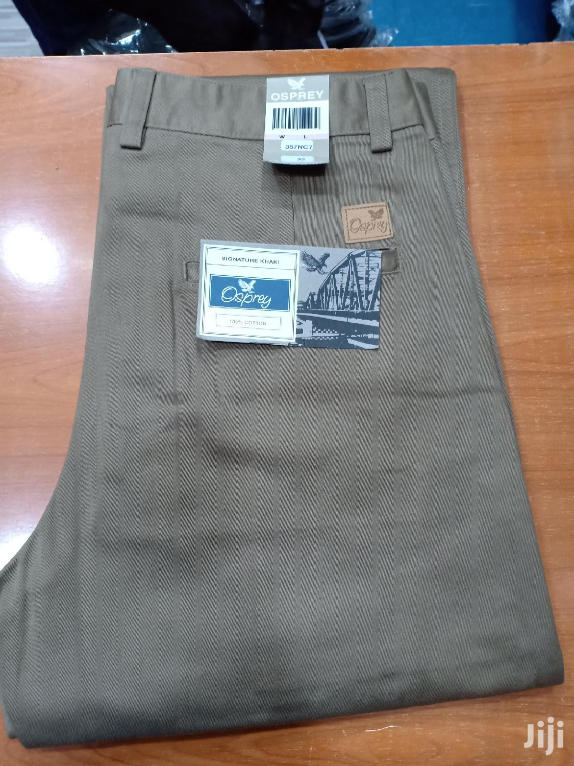 Archive: Khaki Trousers From Thailand