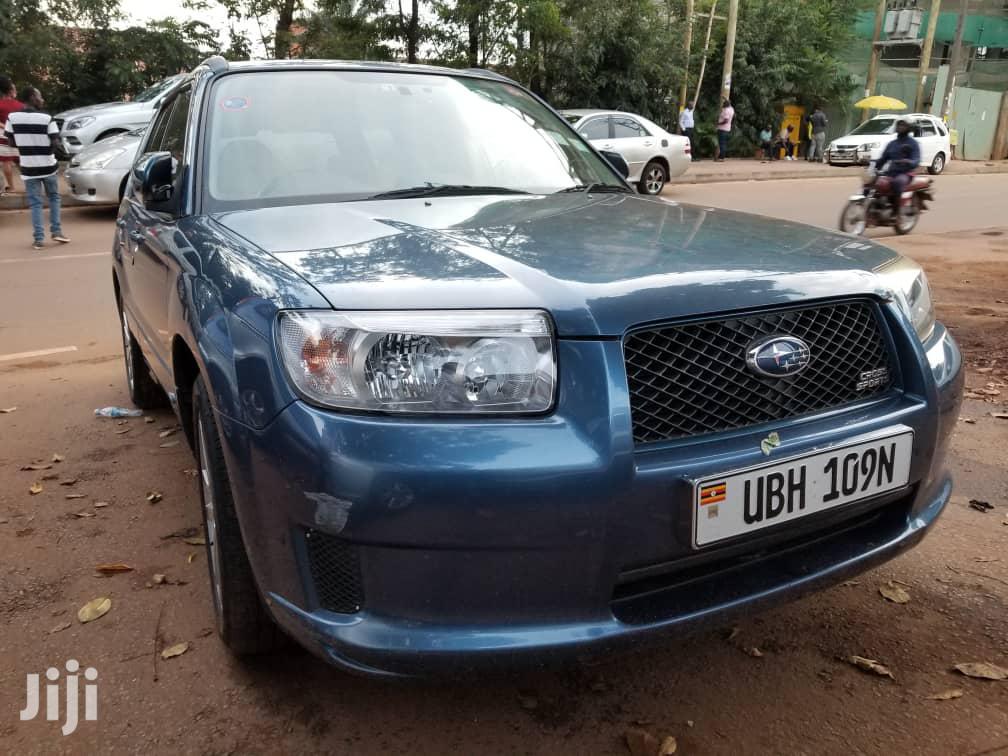 Subaru Forester 2007 2.0 X Trend Blue