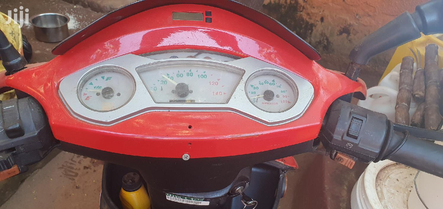 Archive: Motorcycle 2008 Red