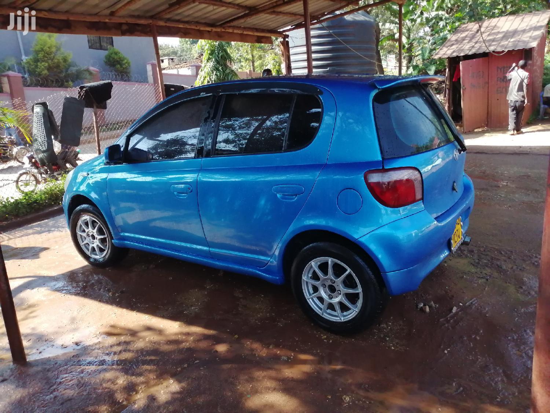 Toyota Vitz 2001 Blue | Cars for sale in Kampala, Central Region, Uganda