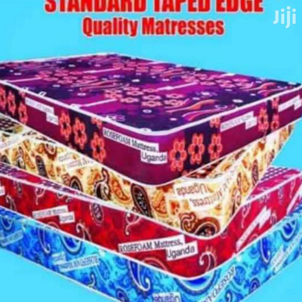 6*6 Standard Tape Edge Matress | Furniture for sale in Kampala, Central Region, Uganda