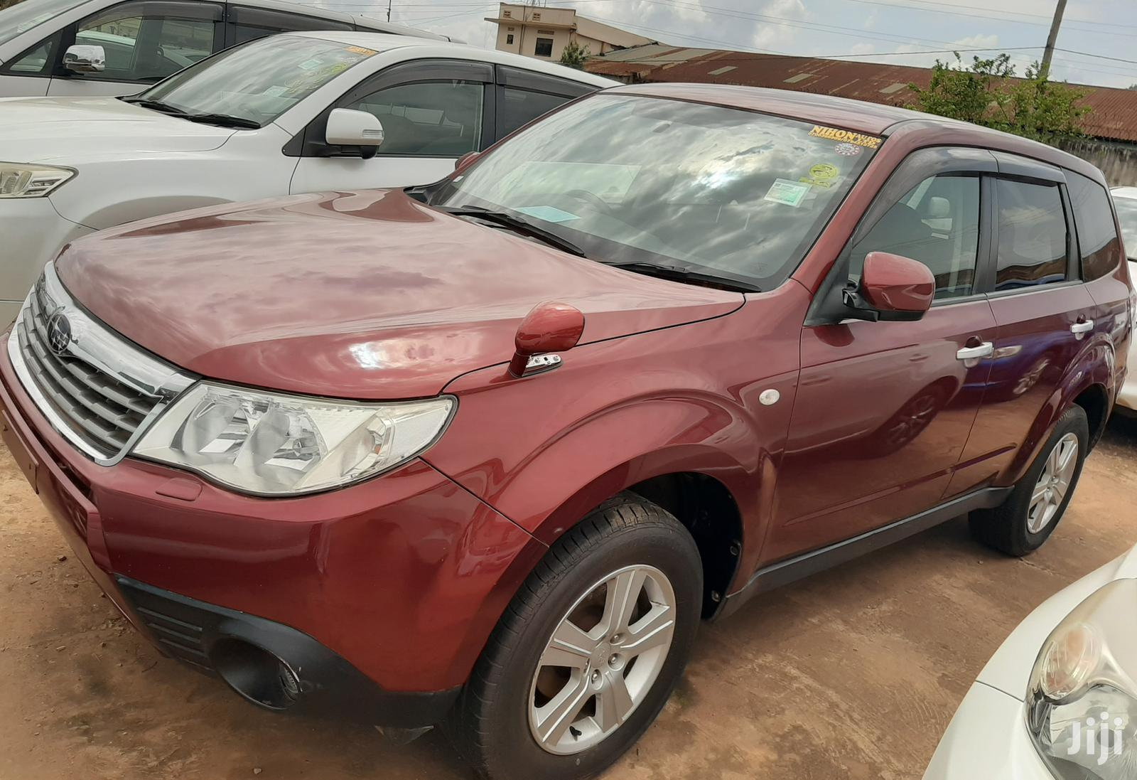 Subaru Forester 2008 Red