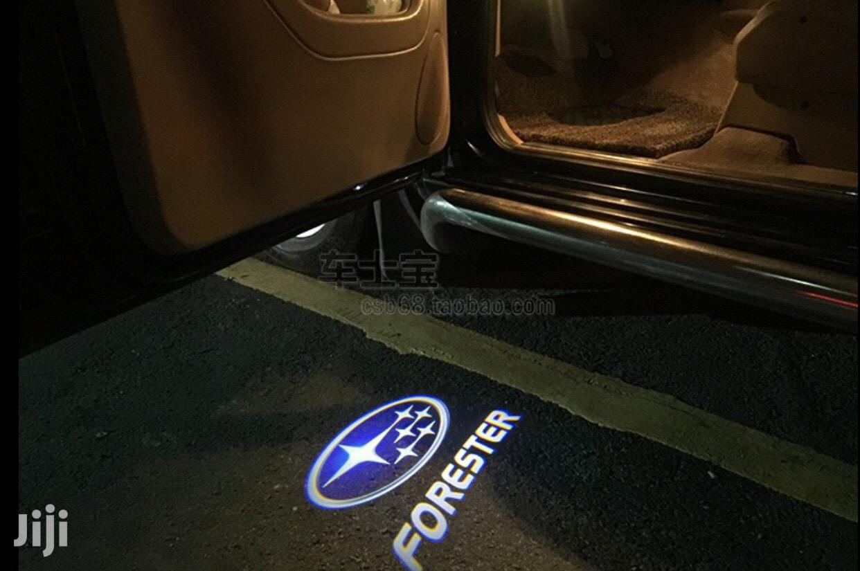 Subaru Forester Outback Legacy 3D Car Door Shadow Lights | Vehicle Parts & Accessories for sale in Kampala, Central Region, Uganda
