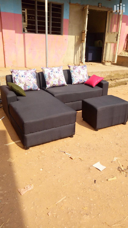 L Shaped Sofa 5 Seats   Furniture for sale in Kampala, Central Region, Uganda