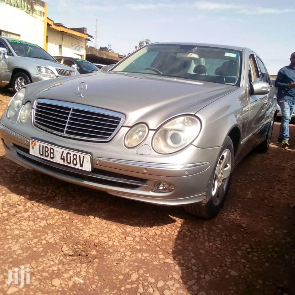 Mercedes-Benz E240 2003 Silver | Cars for sale in Kampala, Central Region, Uganda