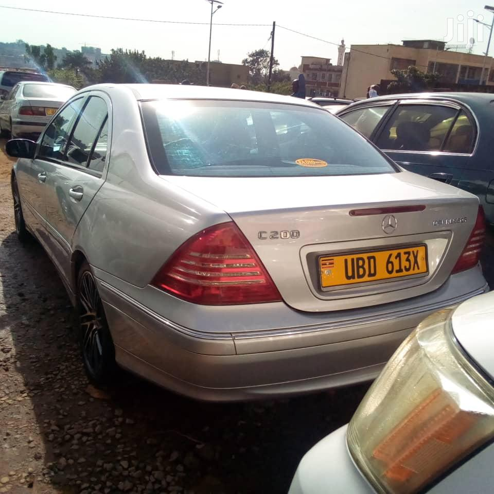 Mercedes-Benz C200 2003 Silver | Cars for sale in Kampala, Central Region, Uganda