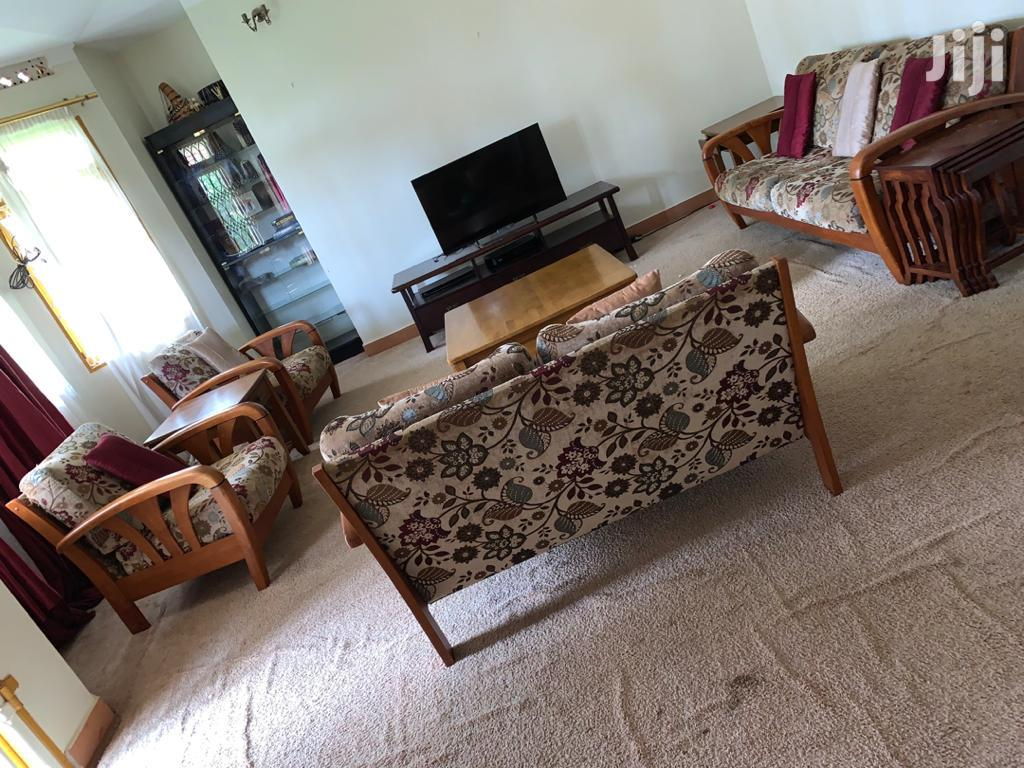 Set Of 7 Seater Sofa ,Side Tables And TV Stand | Furniture for sale in Kampala, Central Region, Uganda