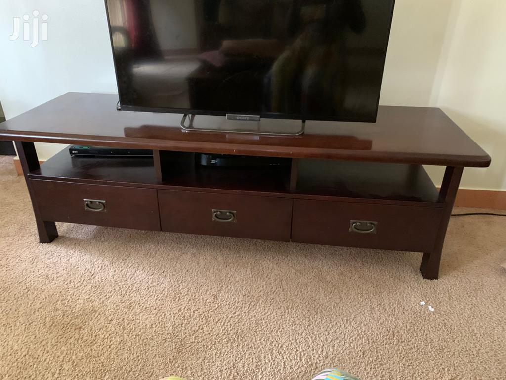 Set Of 7 Seater Sofa ,Side Tables And TV Stand