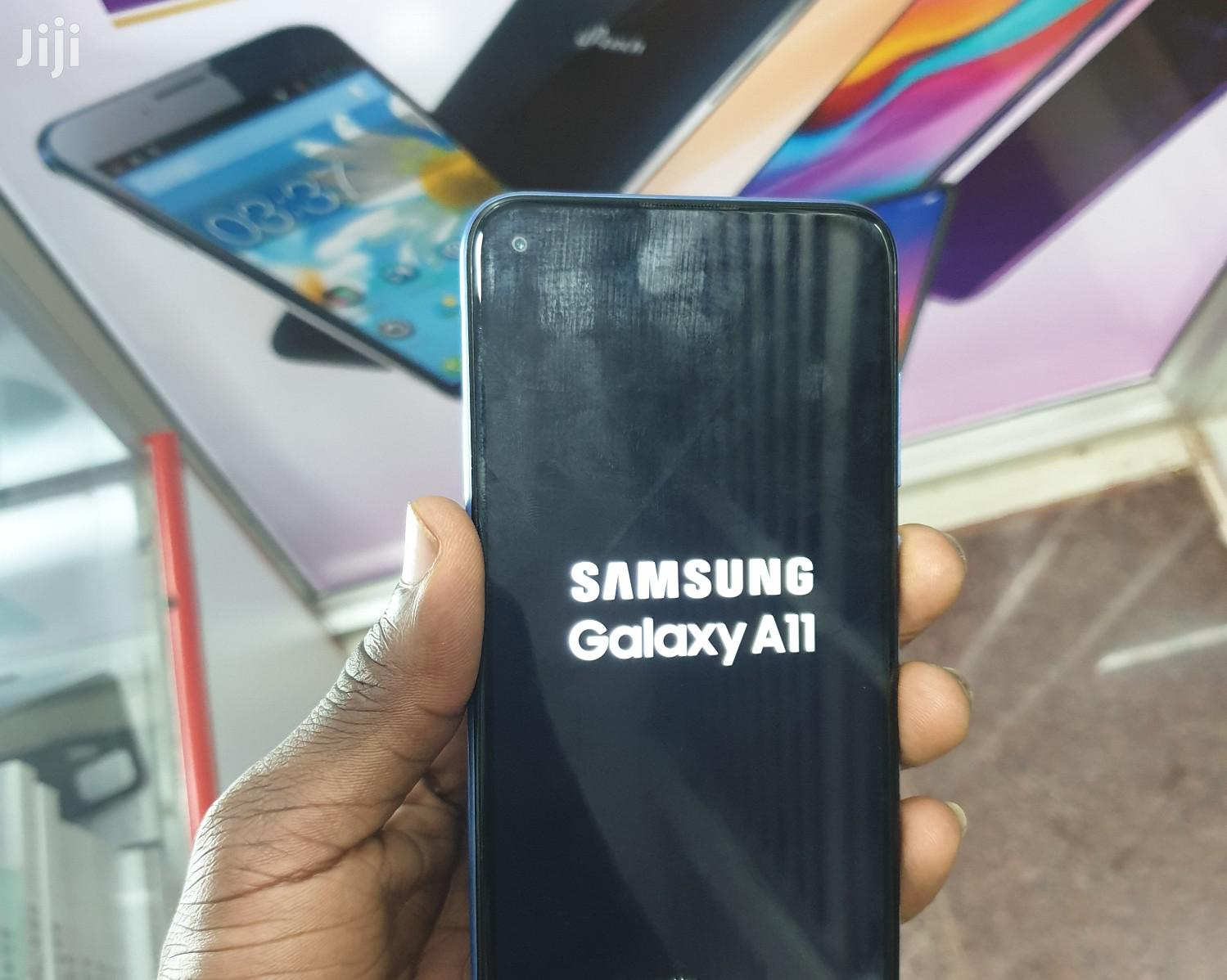 Samsung Galaxy A11 32 GB Blue | Mobile Phones for sale in Kampala, Central Region, Uganda