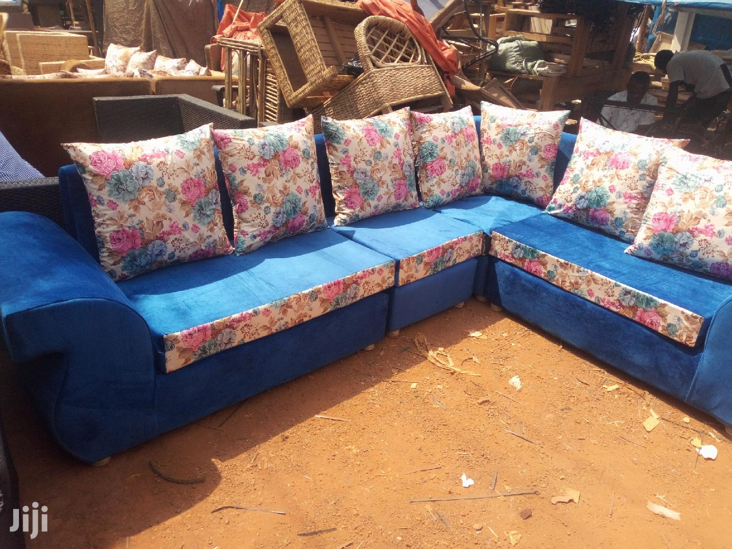 Sofa Chair L Shaped | Furniture for sale in Kampala, Central Region, Uganda