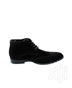 Brand New Oxford Wig Top Boot Black   Shoes for sale in Central Region, Kampala