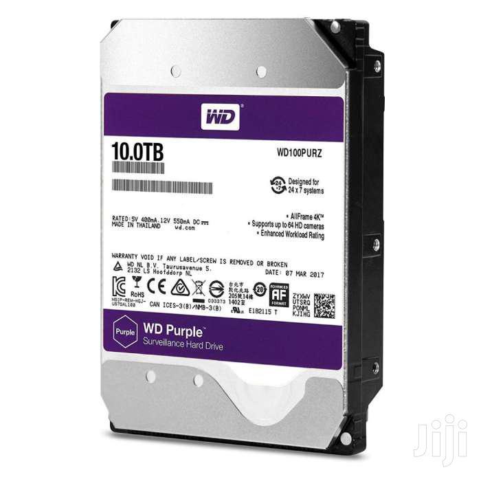 Seagate & WD 4TB 6TB 8TB 10TB Desktop Internal Hard Disk | Computer Hardware for sale in Kampala, Central Region, Uganda