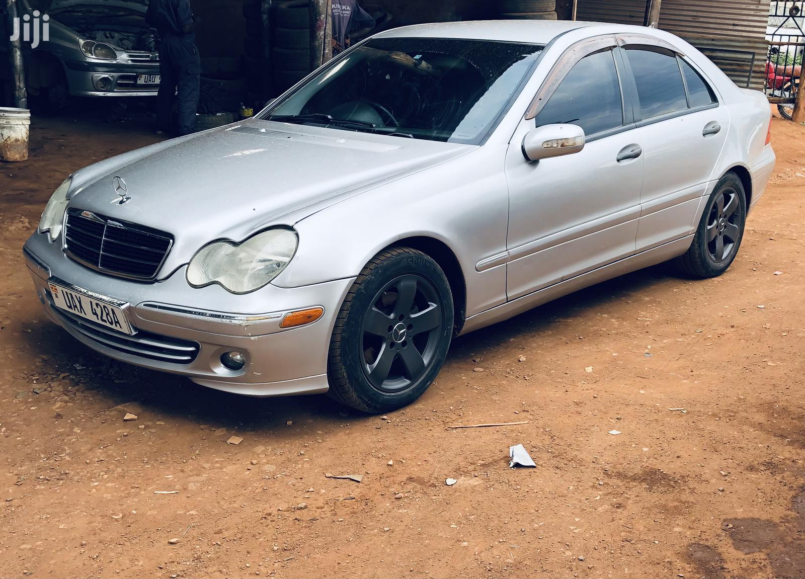 Mercedes-Benz C180 2003 Silver | Cars for sale in Kampala, Central Region, Uganda