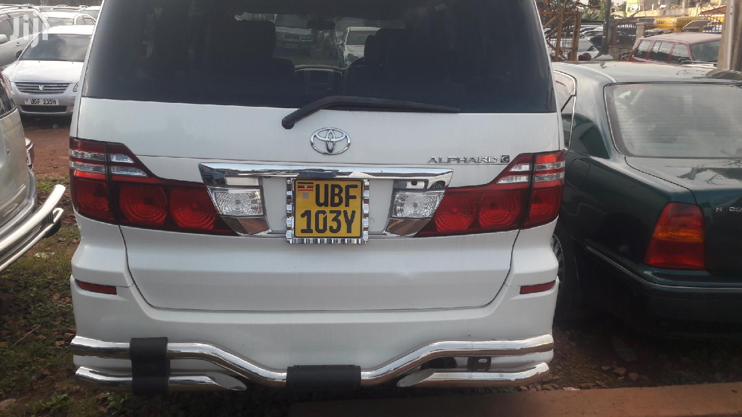 Toyota Alphard 2006 White | Cars for sale in Kampala, Central Region, Uganda
