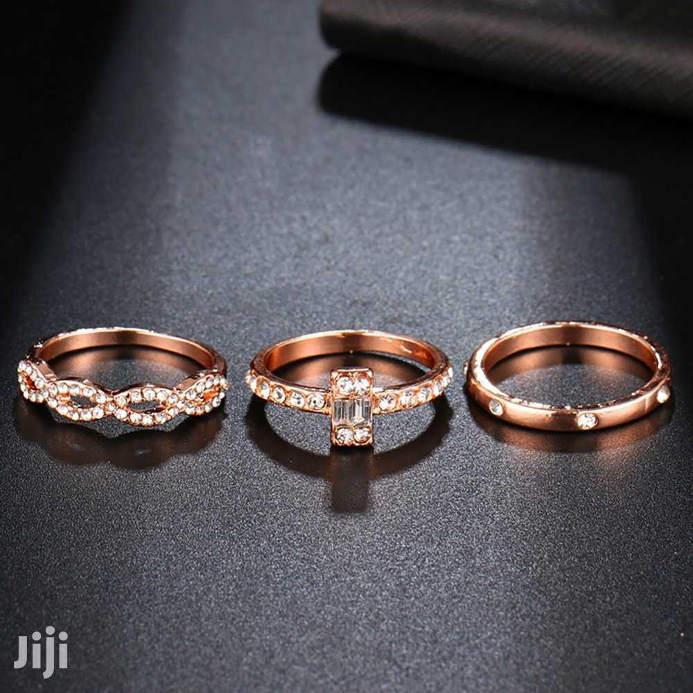 3pieces of Engagement Ring With It's Box | Wedding Wear & Accessories for sale in Busia, Eastern Region, Uganda