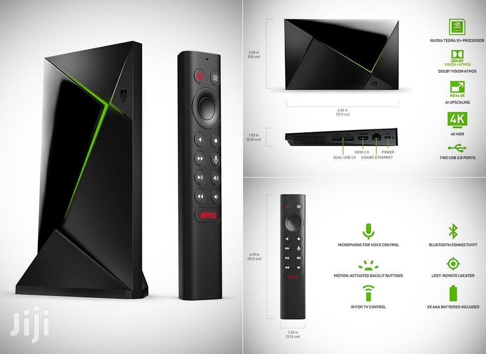NVIDIA Shield Android TV Pro | 4K HDR Streaming Media Player | TV & DVD Equipment for sale in Kampala, Central Region, Uganda