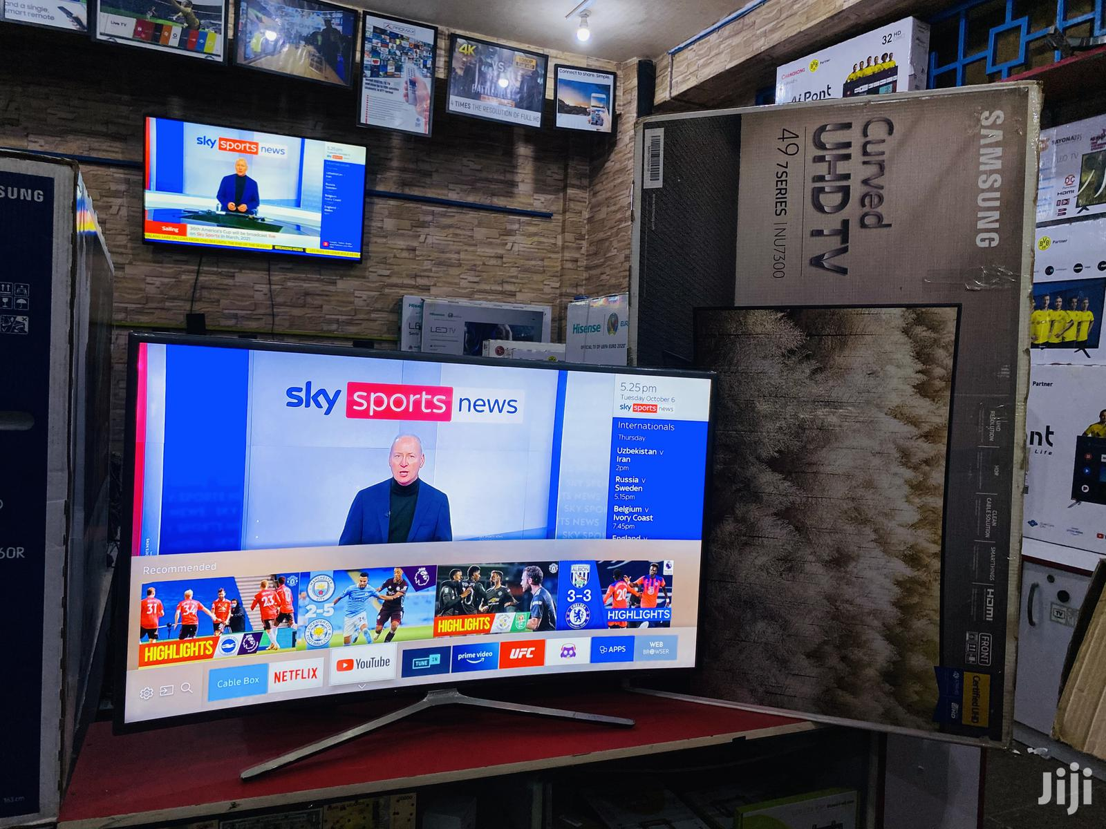 Samsung Curved Smart TV 49 Inches