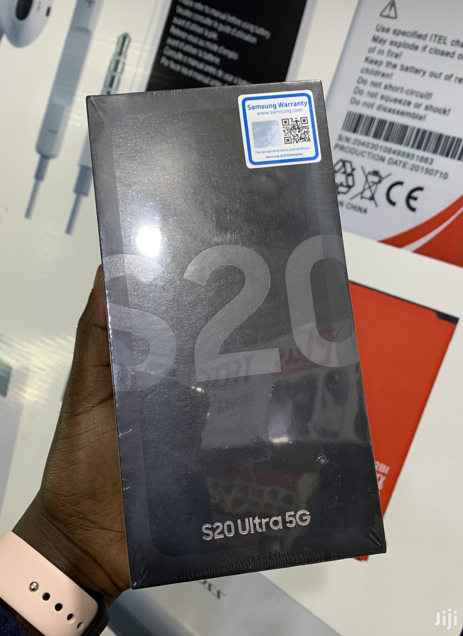 New Samsung Galaxy S20 Ultra 128 GB Black | Mobile Phones for sale in Kampala, Central Region, Uganda
