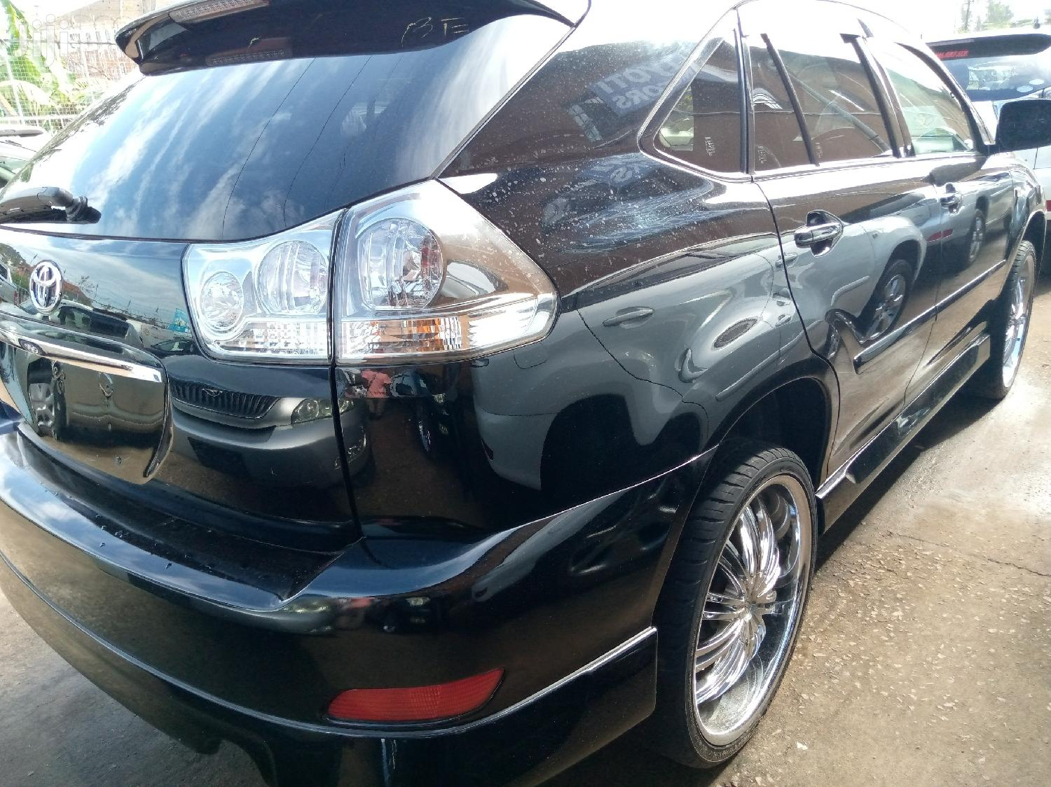 Toyota Harrier 2007 Black