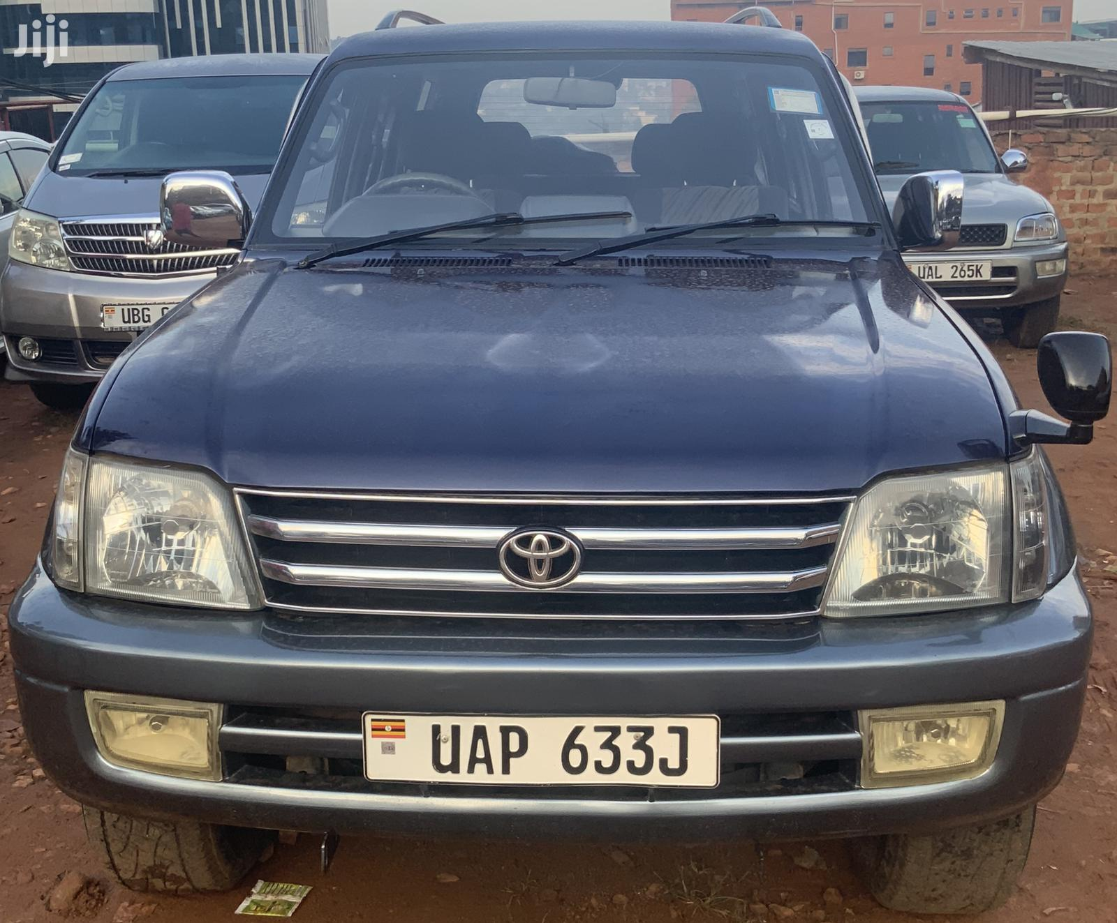 Archive: Toyota Land Cruiser Prado 1999 Blue