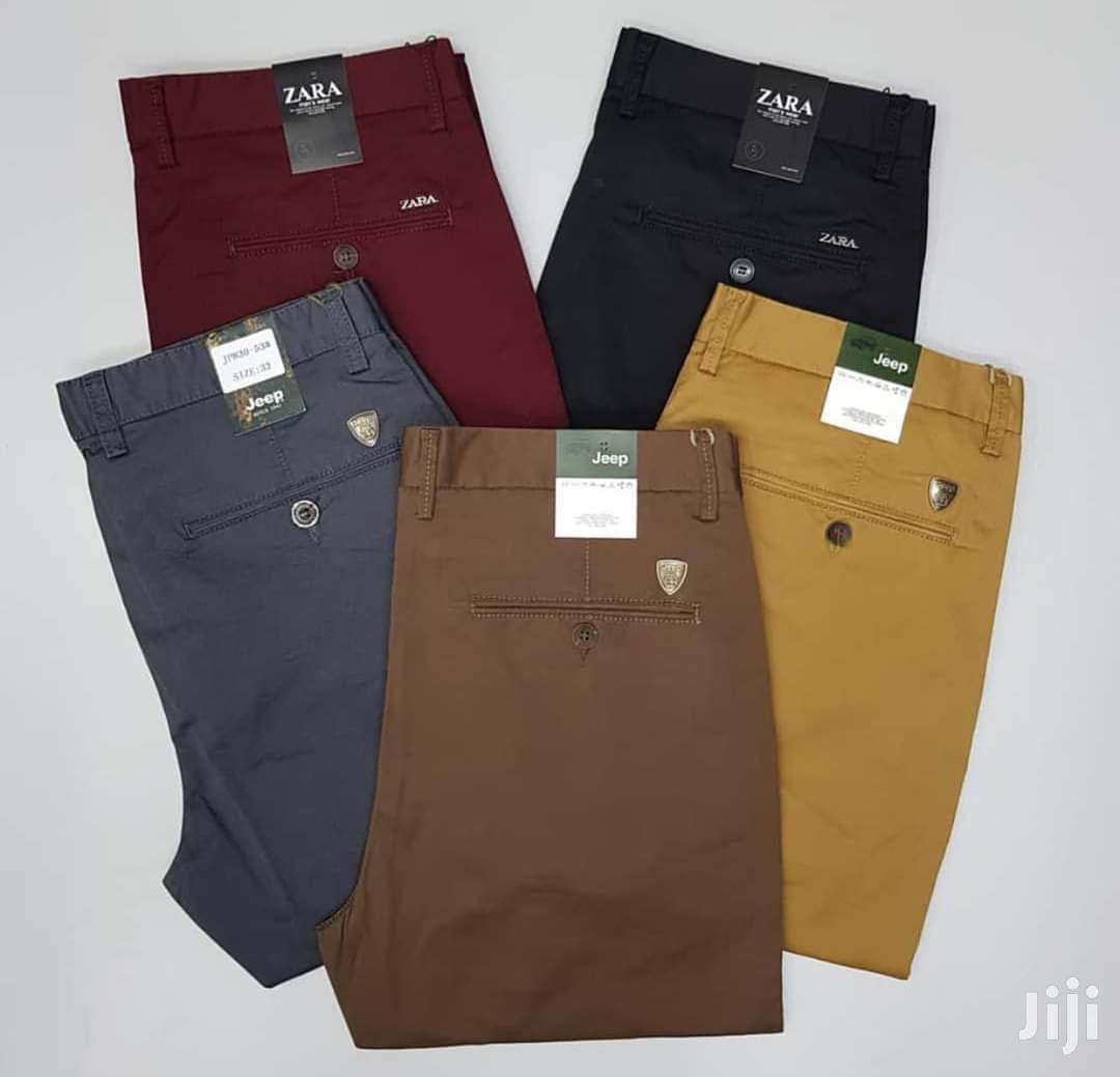 Kaki Trousers