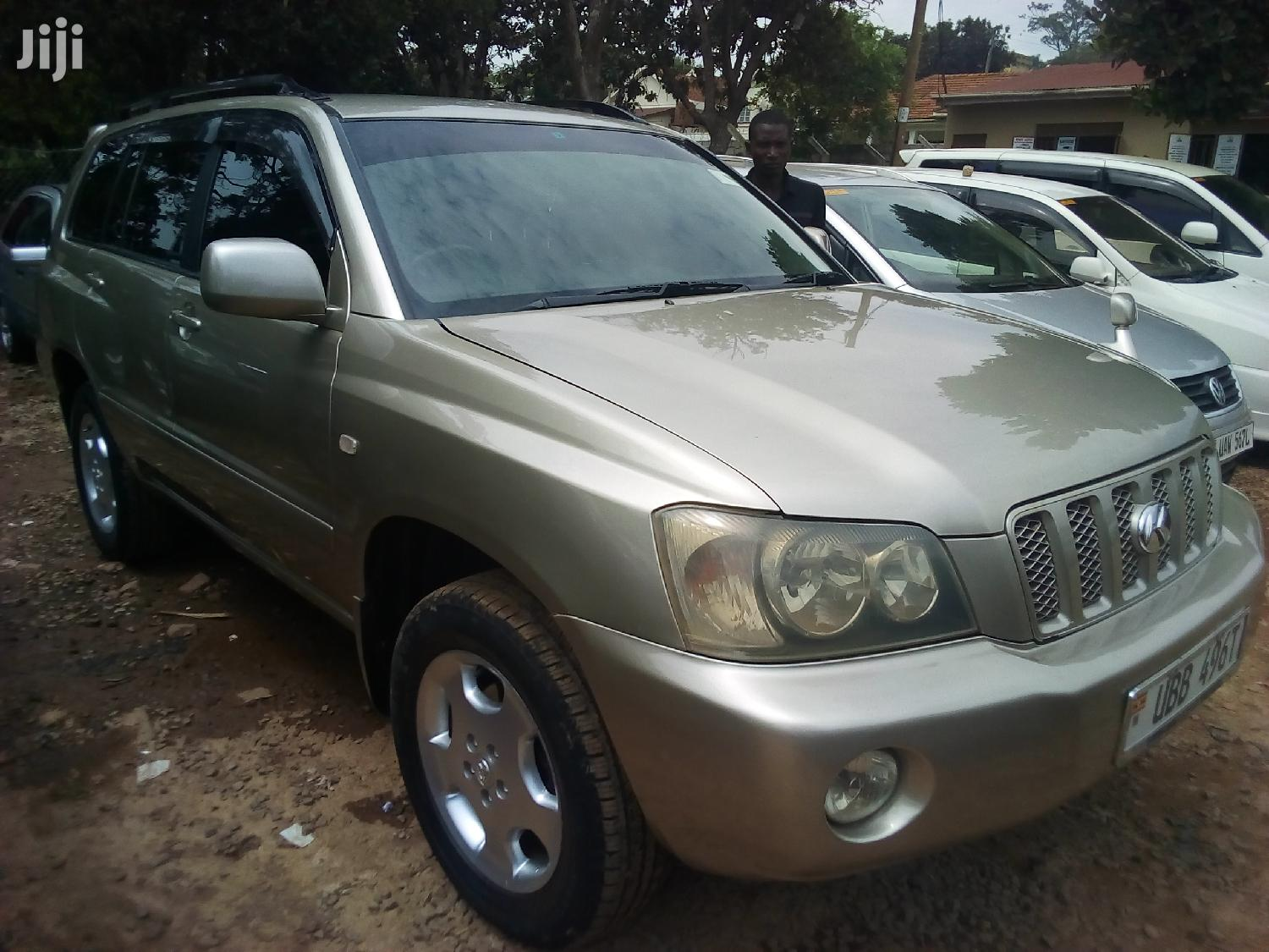 Toyota Kluger 2005 Silver | Cars for sale in Kampala, Central Region, Uganda