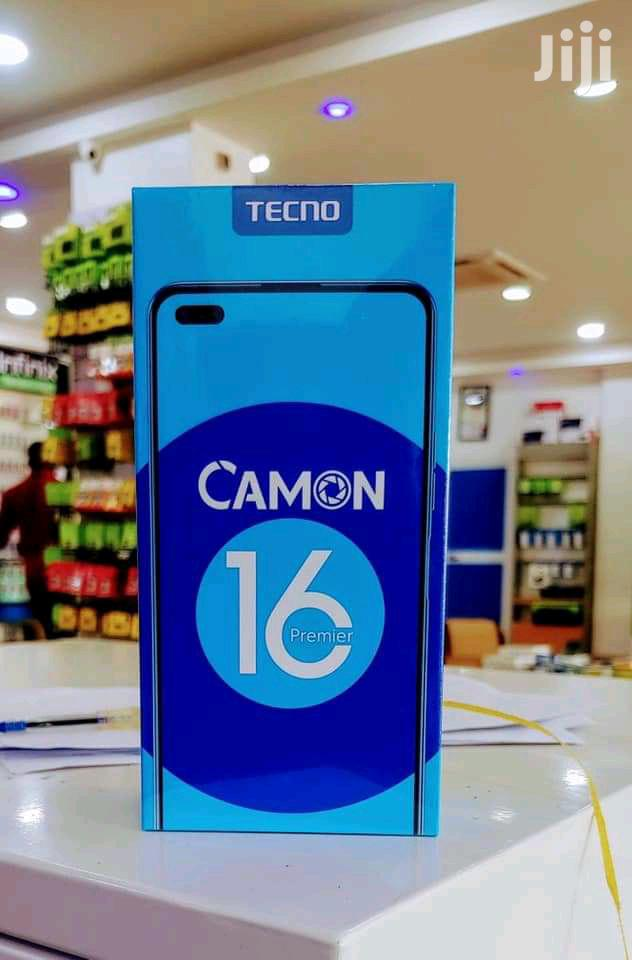 New Tecno Camon 16 Premier 128GB Gray