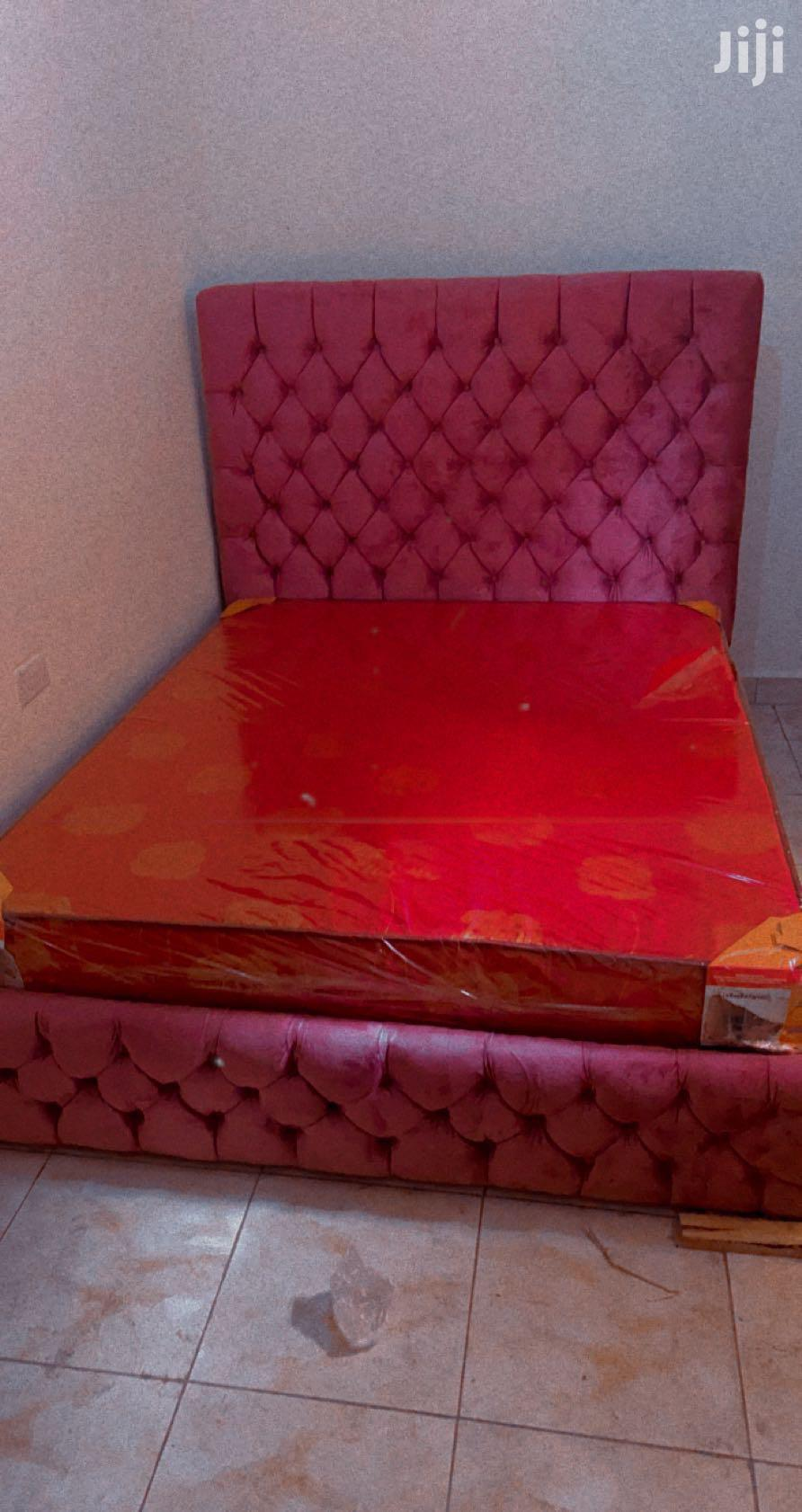 Archive Pink Headboard 5by6 Bed In Kampala Furniture Sharif Papa Jiji Ug