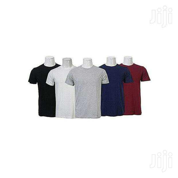 5 in 1 Pack Men's Cotton T-Shirts