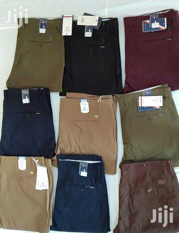 Khaki Stretcher and Non-Stretcher Trousers | Clothing for sale in Kampala, Central Region, Uganda