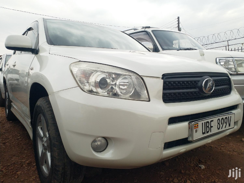 Toyota RAV4 2007 1.8 White   Cars for sale in Kampala, Central Region, Uganda