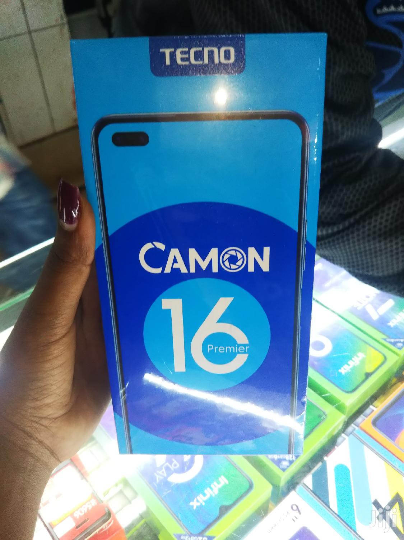 New Tecno Camon 16 Premier 128GB Black
