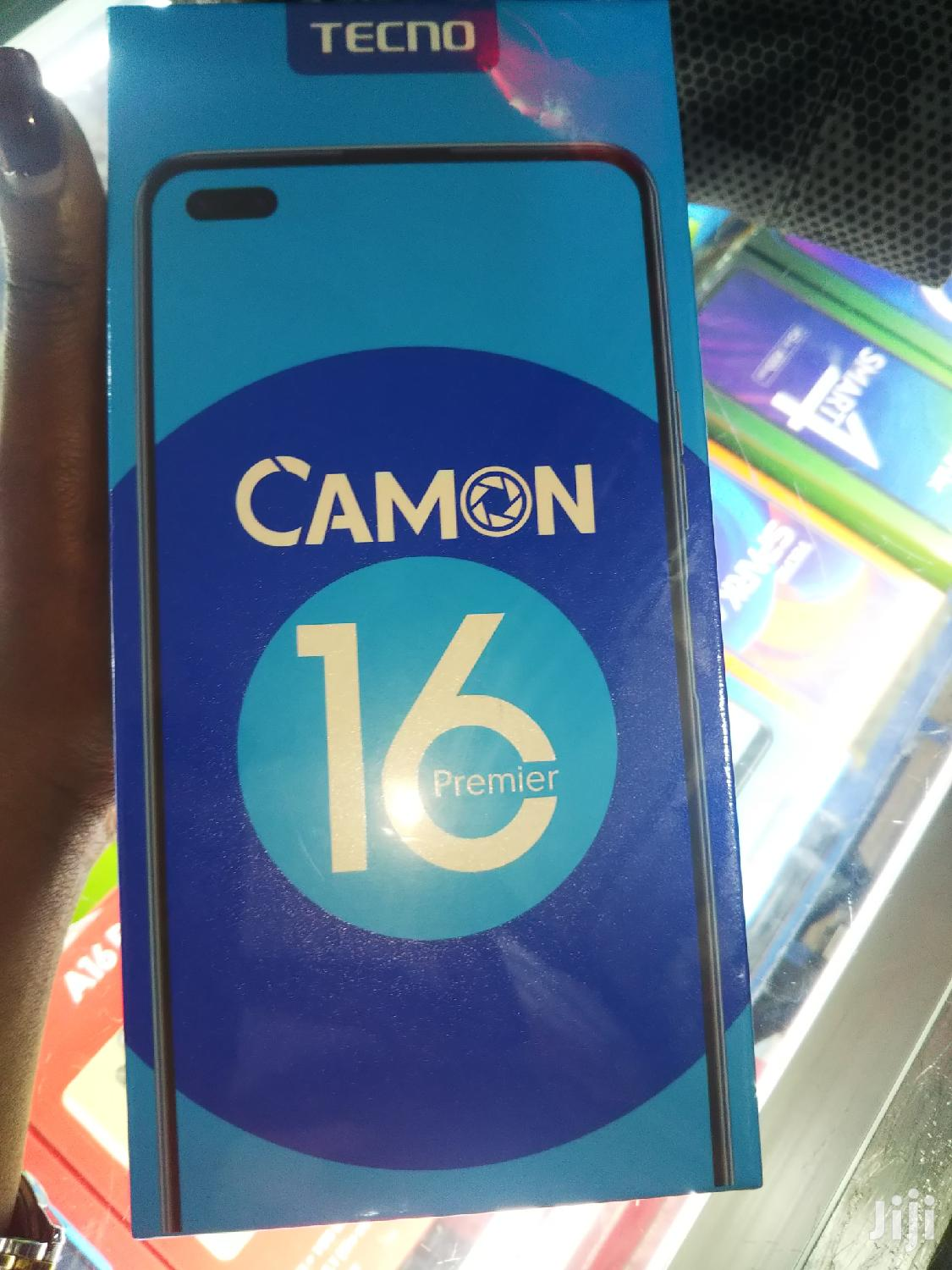 Archive: New Tecno Camon 16 Premier 128GB Black