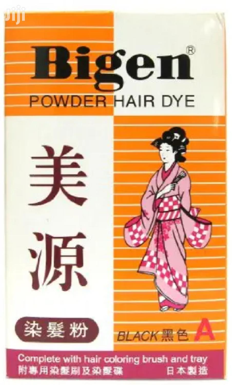 Bigen Permanent Powder Hair Dye Color Black