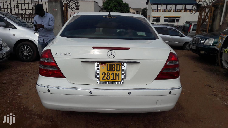 Archive: Mercedes-Benz E240 2005 White
