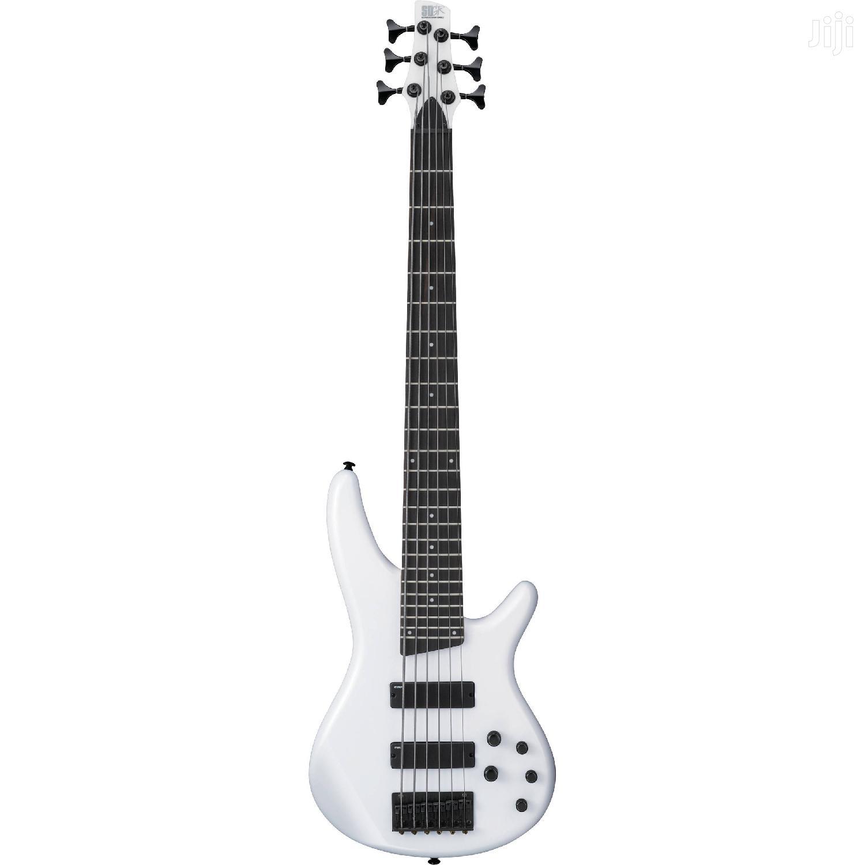 White Bass Guitar 6strings