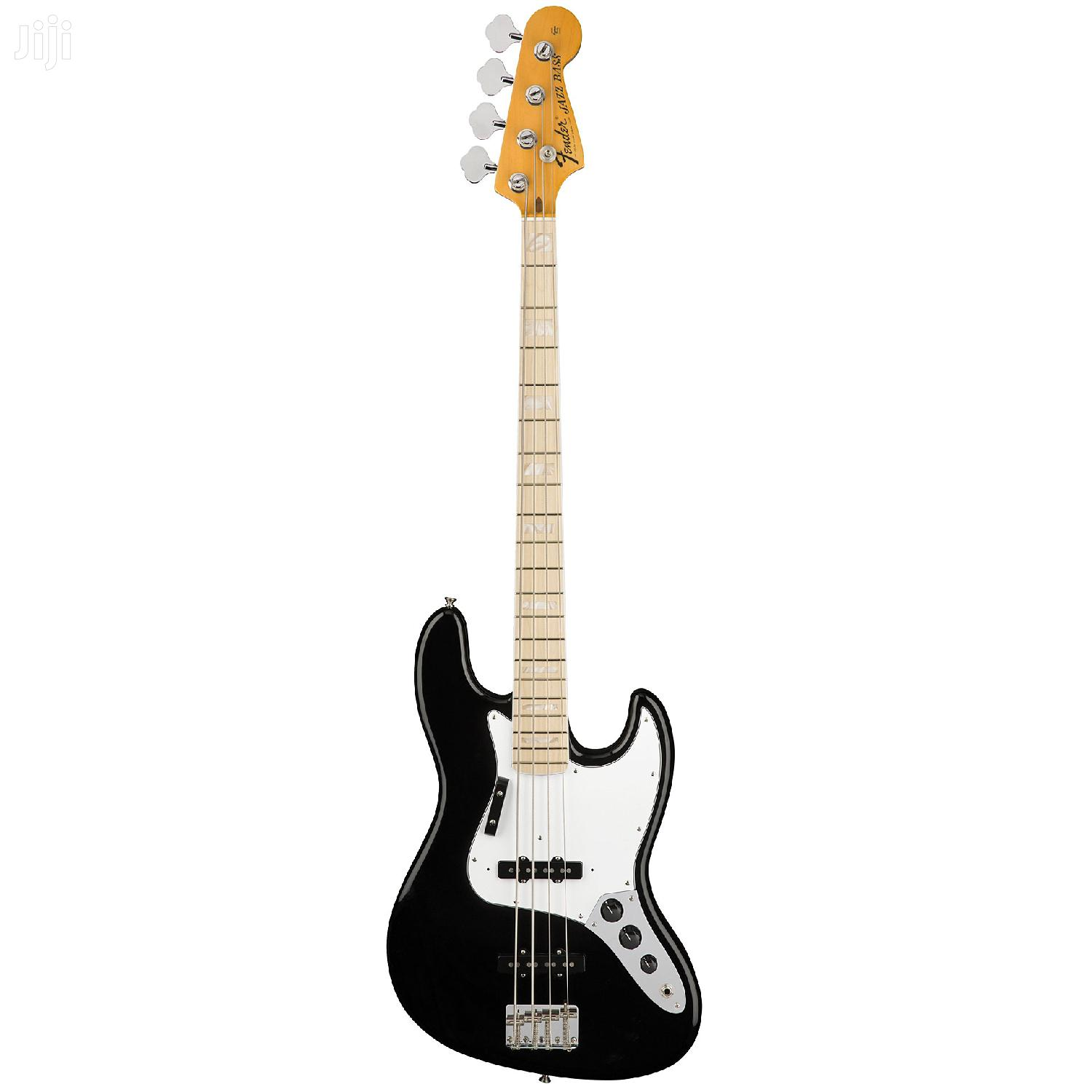 BASS GUITAR 4strings Black