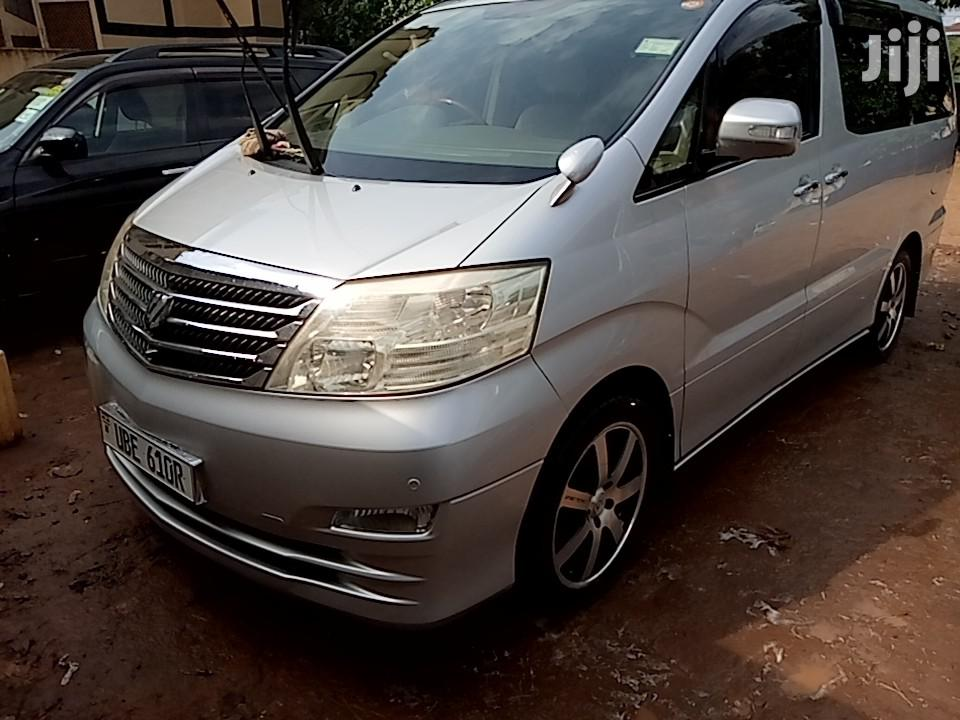 Archive: Toyota Alphard 2006 Silver