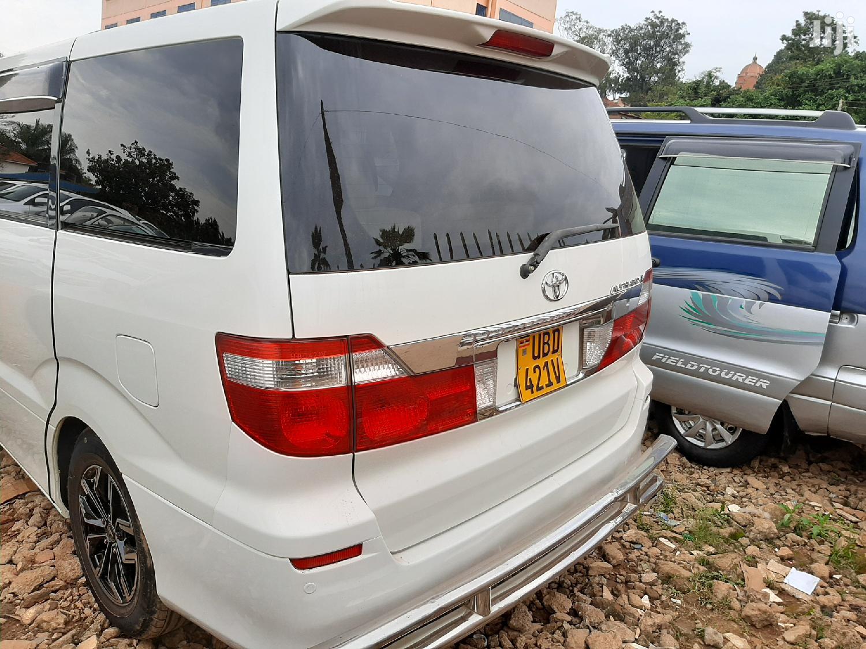 Toyota Alphard 2005 White | Cars for sale in Kampala, Central Region, Uganda