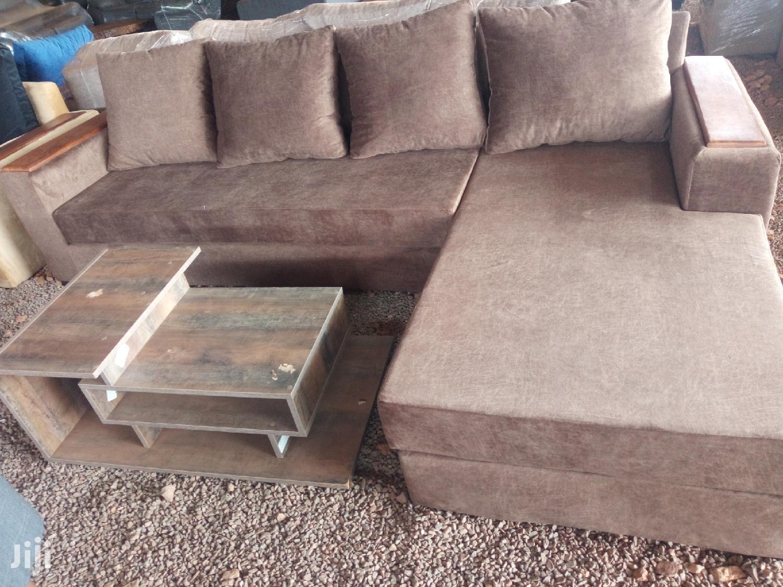 Archive: 5 Seater L-Shaped Sofa Set