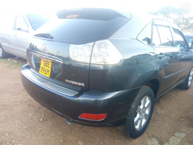 Toyota Harrier 2006 Black   Cars for sale in Kampala, Central Region, Uganda