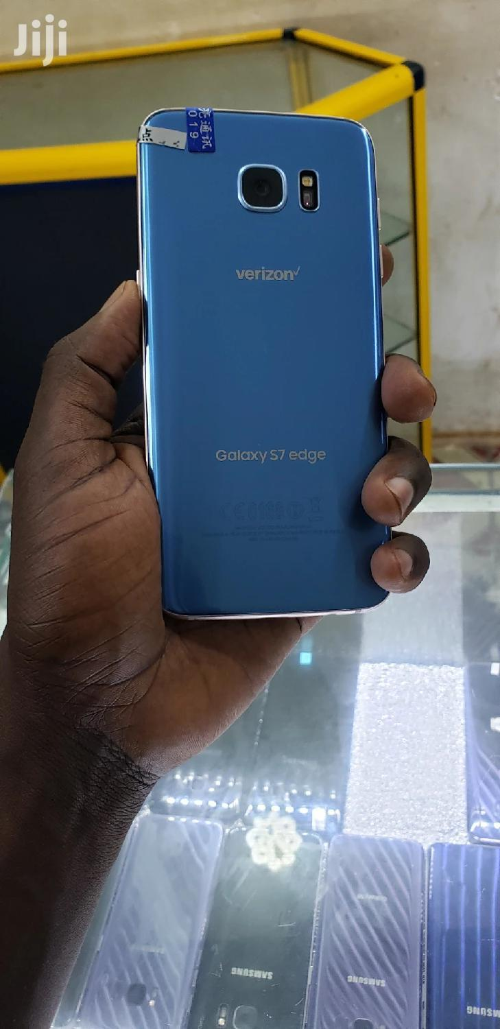 New Samsung Galaxy S7 edge 32 GB Blue | Mobile Phones for sale in Kampala, Central Region, Uganda