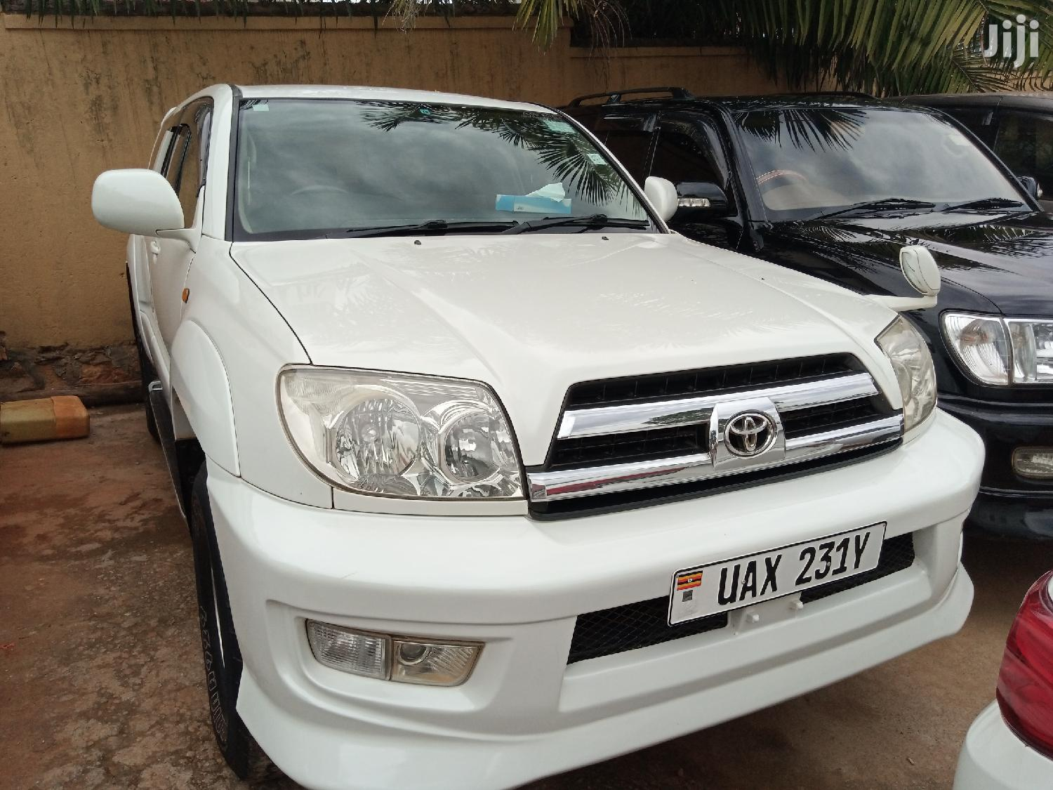 Toyota Surf 2005 White | Cars for sale in Kampala, Central Region, Uganda