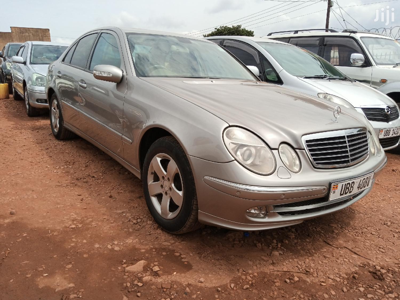 Mercedes-Benz E240 2005 Silver